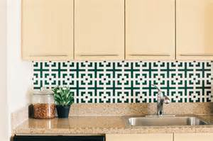 Removable Wallpaper Backsplash inspired whims removable and stylish backsplash ideas