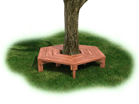 wrap around bench wrap around tree bench cedar the adventurous childthe