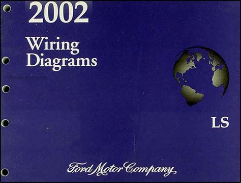 2002 lincoln ls wiring diagram manual original