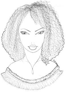 natural hair coloring pages babette coloring pages pinterest
