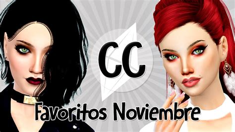 los sims 4 contenido personalizado semana 6 youtube los sims 4 contenido personalizado favoritos noviembre