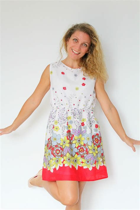 Dress With Pattern summer dress pattern for with gathered waist