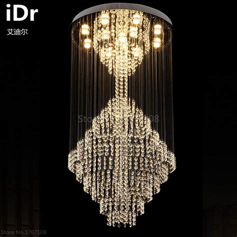 aliexpress idr modern large crystal chandelier l living room luxury