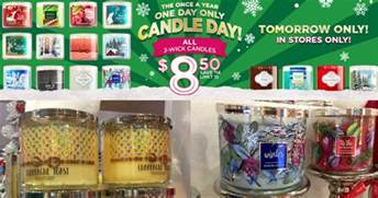bath and works bath works 3 wick candles only 8 50 on december