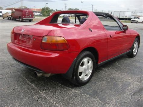 Honda Civic Sol Si by Purchase Used 1993 Honda Civic Sol Si Coupe Targa Sohc