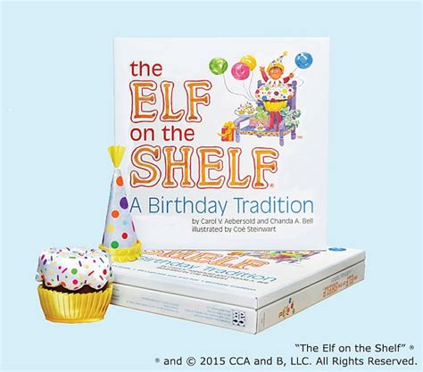 On A Shelf Birthday by The On The Shelf 174 A Birthday Tradition Pottery Barn