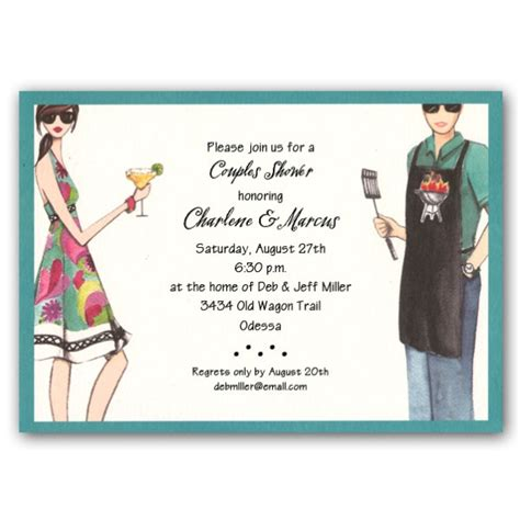 Christmas Home Decor Clearance grilling fun couples shower invitations clearance