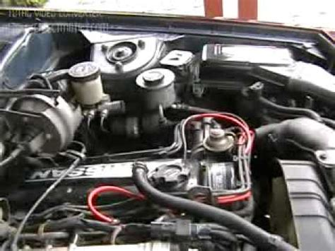 how do cars engines work 1998 nissan 200sx security system 1985 nissan 200sx s12 youtube