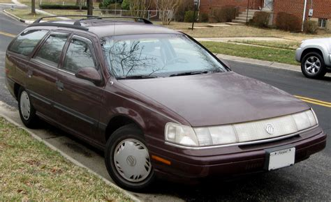 1986 mercury sable information and photos momentcar