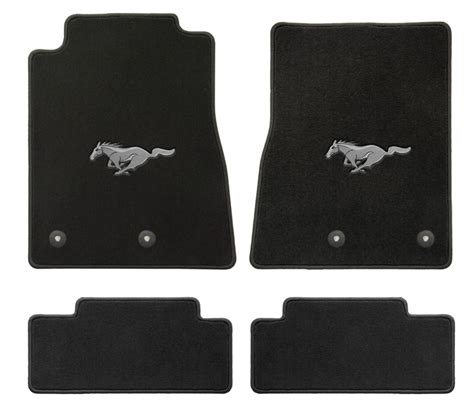 lloyd mats 012291 front rear mustang logo floor mats for