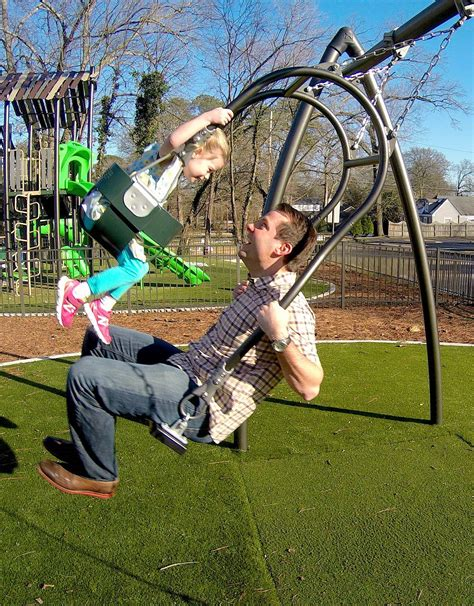 swinging with expression swing playground fun for the whole familysweet