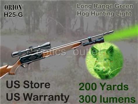 can hogs see green light h25 g 200 yard green led hog light w