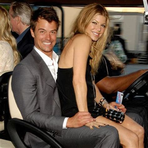 Black Eyed Peas Fergie Engaged To Josh Duhamel Reps Confirm by So Who Is Current Fergie Boyfriend Boyfriend