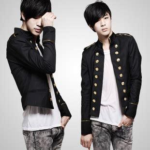 Jaket Blazer Pria Korean Style Jaket Style Hitam free shipping korean suit slim blazer two metal button mandarin collar fashion