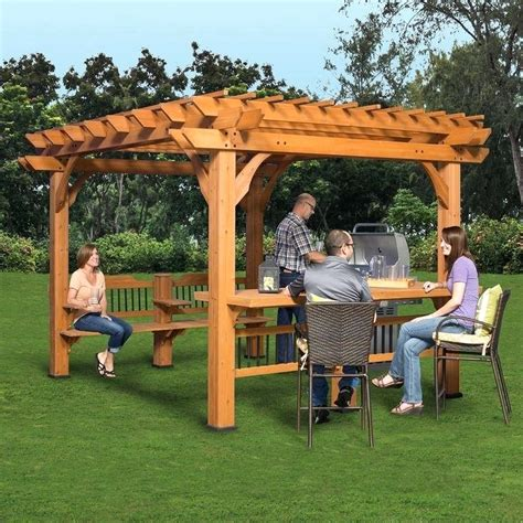 Small Backyard Pergola Ideas Backyard Arbors Ideas Mobiledave Me