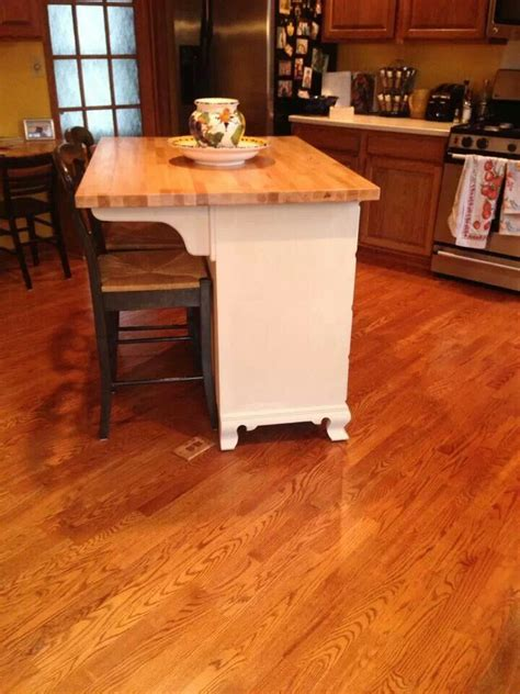dresser kitchen island dresser turned kitchen island diy pinterest islands