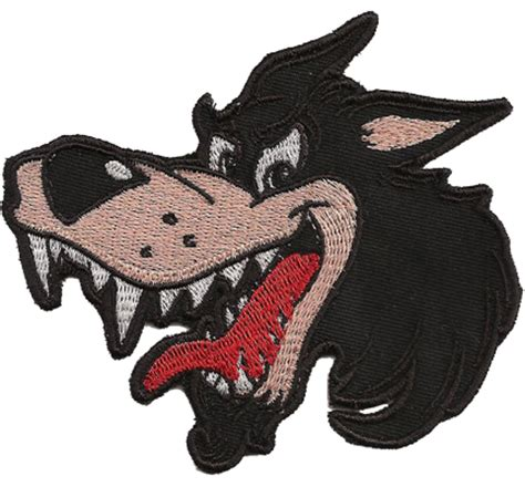 Motorrad Patches Marken by Comic Wolf Wolfspakt Lonly Wulf Wulfpack Biker Patch