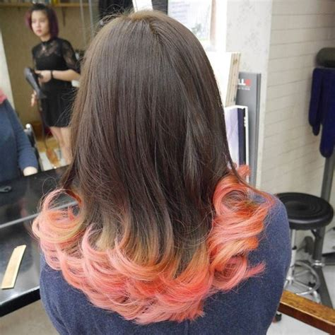 what color did your shorkie end up being 20 dip dye hair ideas delight for all
