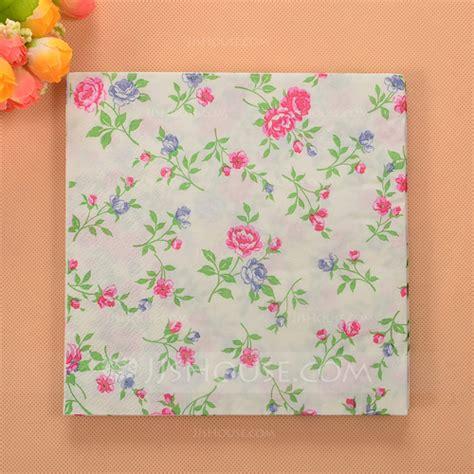 flower pattern napkins flower pattern beverage napkins set of 20 122057830