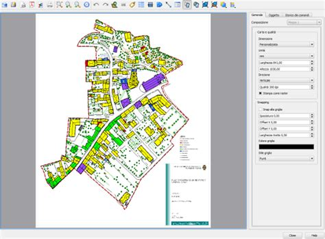 qgis print layout using qgis for urban planning in the municipality of