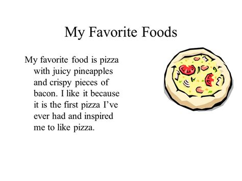 Essay My Favorite Food by Images My Favorite Food Essay For Images