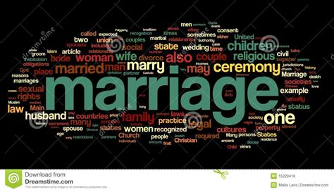 related words marriage word cloud royalty free stock image image 15229416