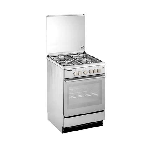 Oven Kompor Stainless jual modena fc7643s kompor oven freestanding 4 tungku 60