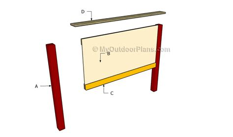 free headboard plans headboard plans myoutdoorplans free woodworking plans