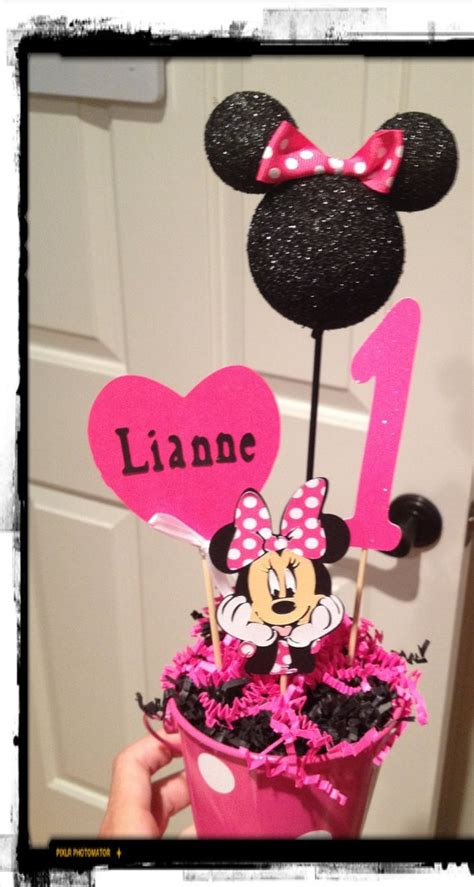 minnie mouse decoration personalized by eryacah on etsy