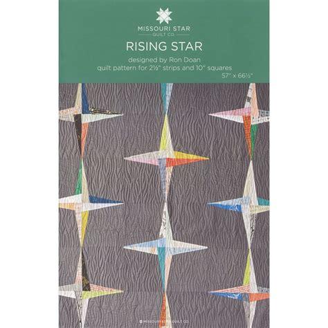 Rising Star Pattern Grading System | rising star quilt pattern by msqc sku pat1247 missouri