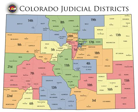 Judicial District Court Nevada Search Find A Court In Colorado Colorado Judicial Districts Map