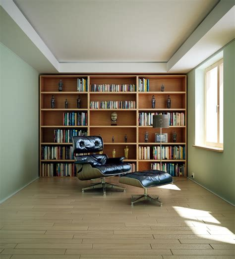 home library interior design 17 masculine home library render interior design ideas