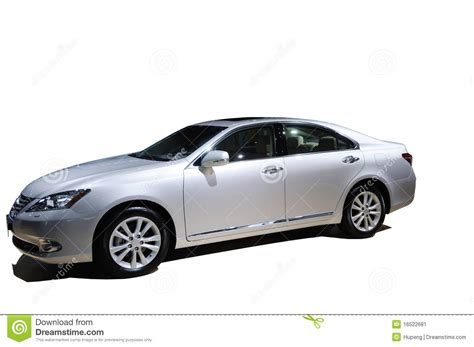 lexus luxury car luxury car lexus es 240 stock image image of logo