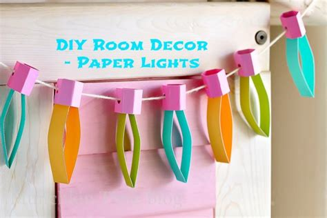 room crafts diy diy room decor paper lights munchkin time
