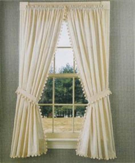 ball fringe curtains treat my windows kindly please on pinterest window