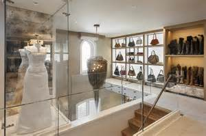 Two story walk in closet with built in home office fresh faces of design hgtv