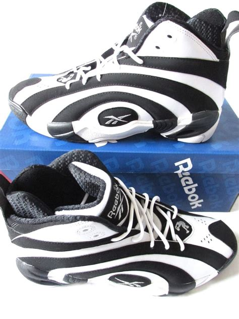 reebok classic high top basketball shoes reebok classic shaqnosis og mens hi top basketball