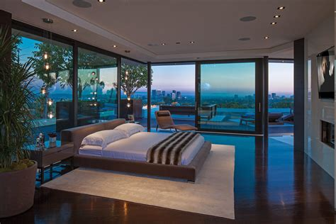 big modern bedrooms glass walled bedroom interior design ideas