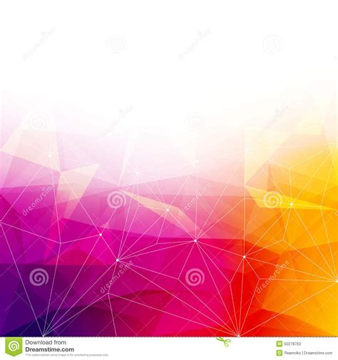 colorful crystal wallpaper colorful abstract crystal background stock vector image