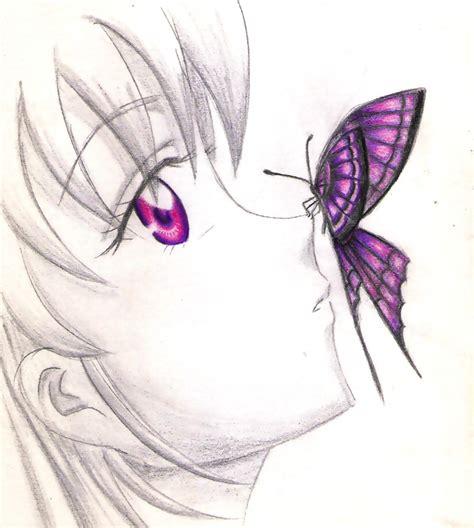 imagenes sorprendentes a lapiz butterfly mariposa by mahito99 on deviantart