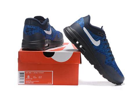 Nike Air Max Flyknit Premium nike air max 1 premium air max 1 flyknit bleu et noir