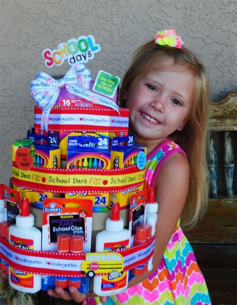 17 Best images about Teacher supply cakes and etc on Pinterest   Practical gifts, Paper towels