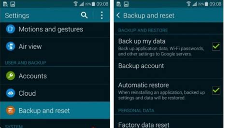reset android data usage two ways recover lost messages after factory reset on android