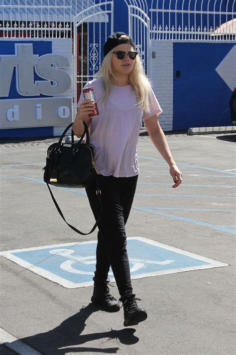 witney carson dwts witney carson arrives at dwts studio in hollywood 09 29