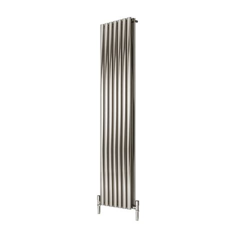 stainless steel radiators elevato vertical brushed home supply sell the reina nerox double brushed stainless