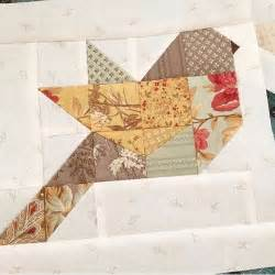 Fashion Themed Bedroom quilt birds patchwork
