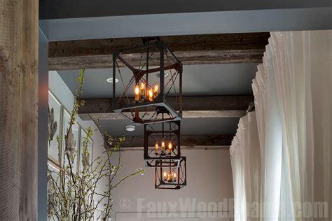 reclaimed wood installing box beams reclaimed wood are reclaimed wood beams right for you faux wood workshop