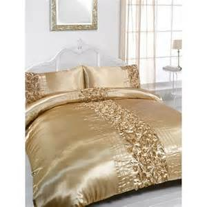 Gold Bedding Sets King Size Gold Embellished King Size Duvet Pillowcase Bedding Set