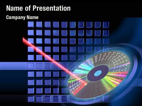Digital Disc Powerpoint Templates Digital Disc Laser Ppt Templates Free