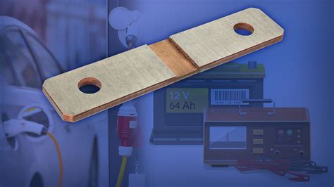 power shunt resistors new automotive grade power metal battery shunt resistor from vishay ele times